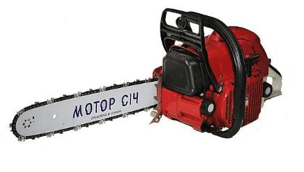 Бензопила Мотор Сич 470