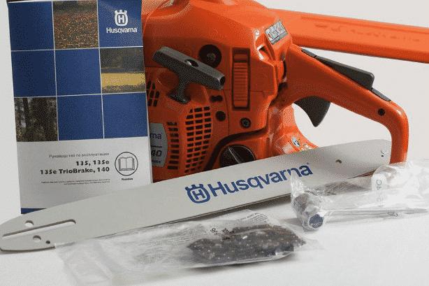 Комплект поставки Husqvarna 135