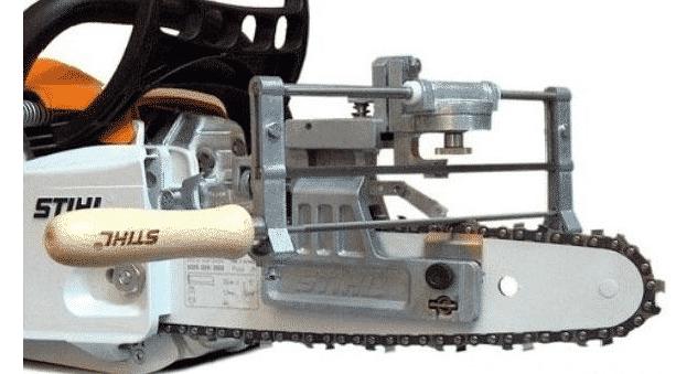 Прибор для заточки цепей бензопил