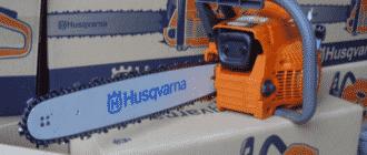 Технические характеристики бензопилы Хускварна 142