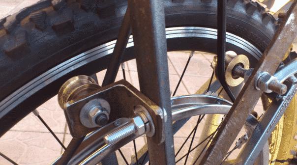 Установка тормозной системы на велосипед