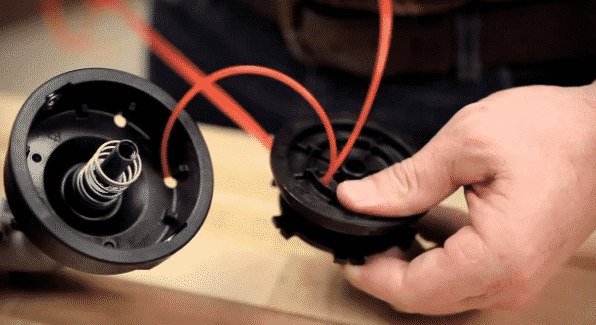 Как леску намотать на катушку триммера