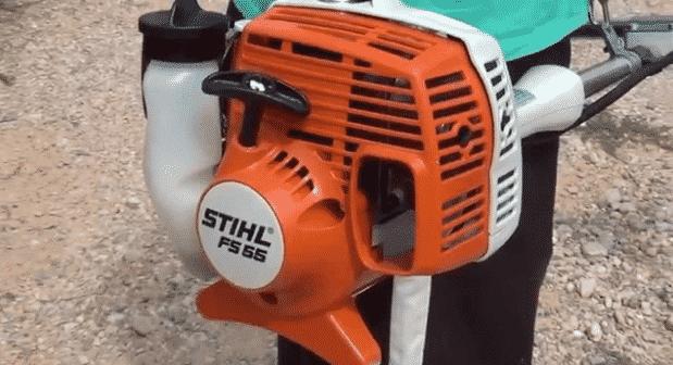 Устройство мотокосы Stihl FS 55