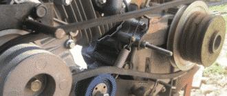 Натяжка ремня мотоблока Нева – как сделать правильно